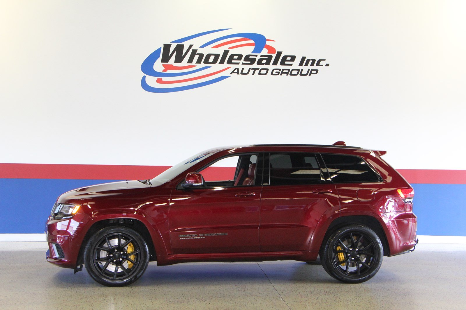 Pre Owned 2018 Jeep Grand Cherokee Trackhawk