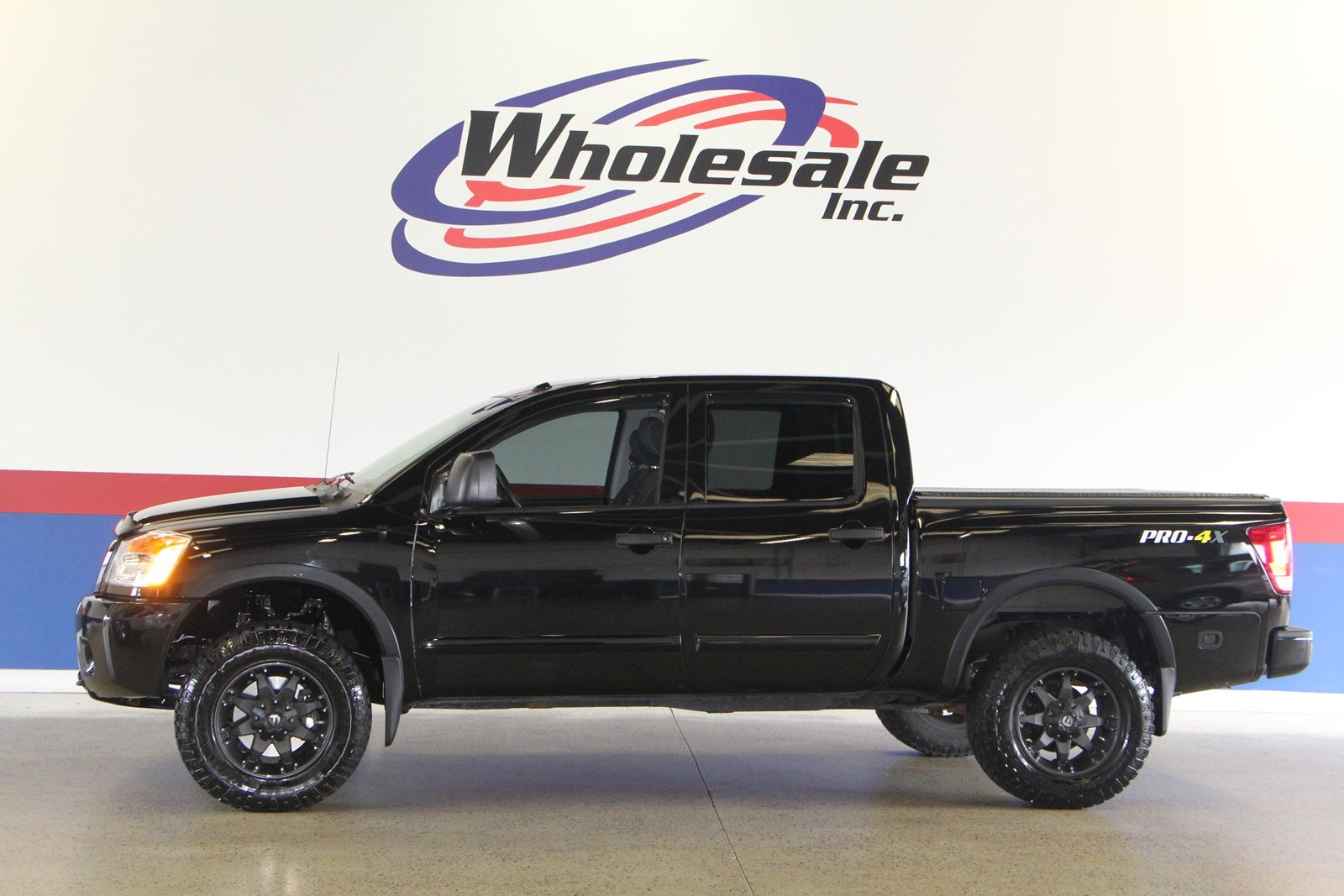 Pre Owned 2013 Nissan Titan PRO 4X