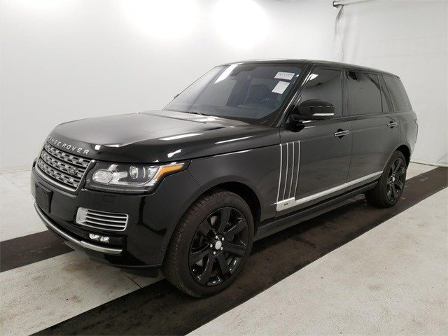 Pre-Owned 2015 Land Rover Range Rover Autobiography Black