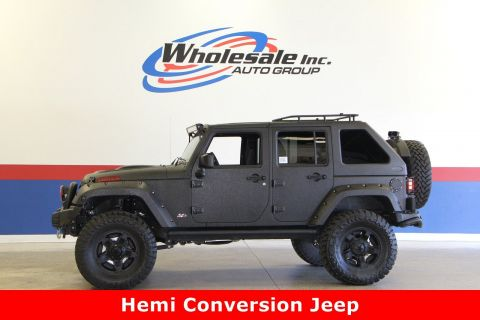 Pre-Owned 2017 Jeep Wrangler Unlimited Rubitrux Hemi Conversion