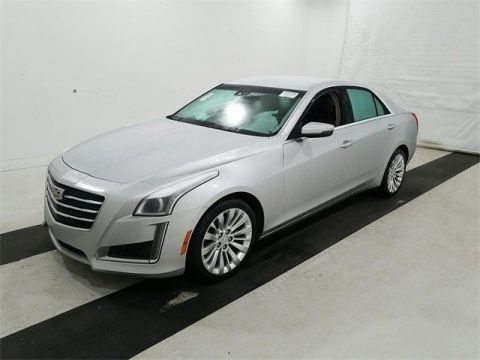 Pre-Owned 2015 Cadillac CTS Sedan 2.0L Turbo Luxury