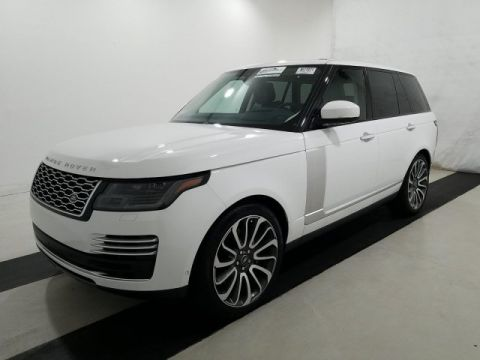 Pre-Owned 2019 Land Rover Range Rover 5.0L V8 Supercharged Autobiography